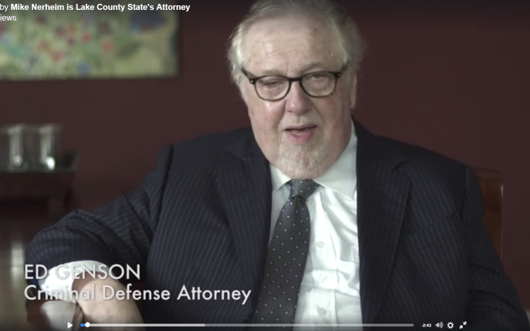 Endorser Spotlight: Notable Defense Attorney Ed Genson